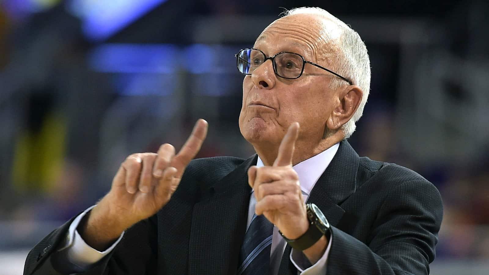 Larry Brown - coach SMU