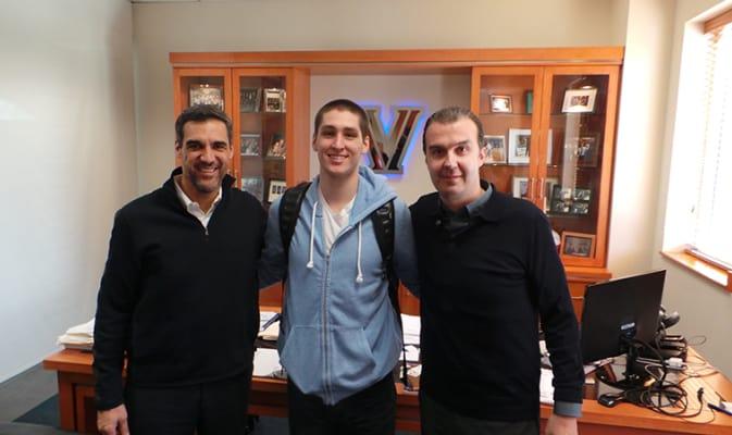 Pianigiani, Arcidiacono e Jay Wright