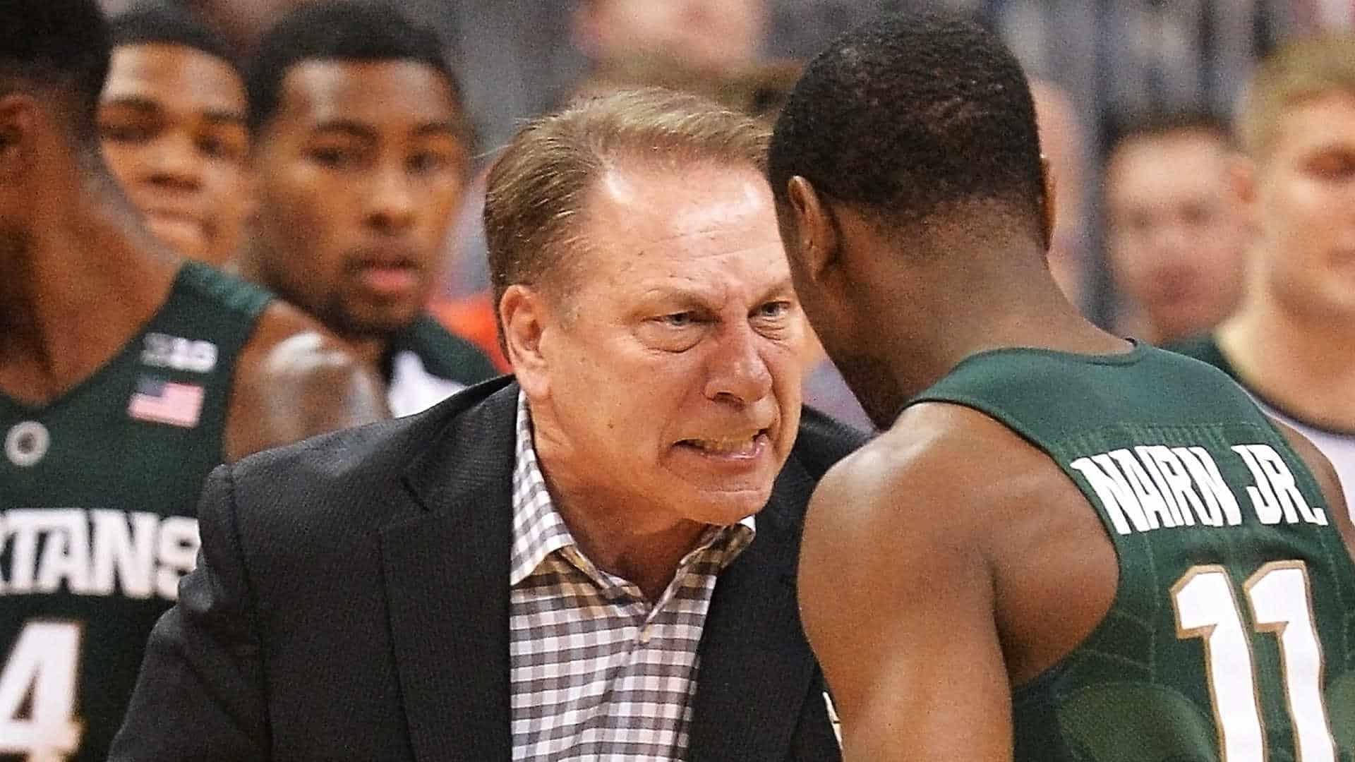 Tom Izzo - coach Michigan State