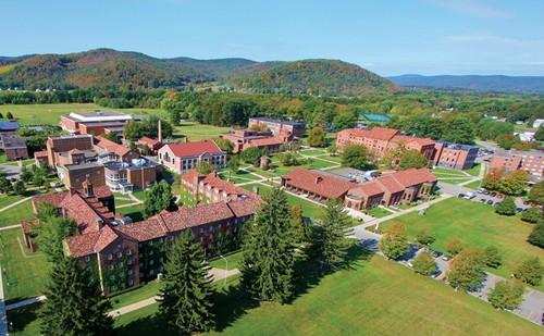 Il campus di St. Bonaventure