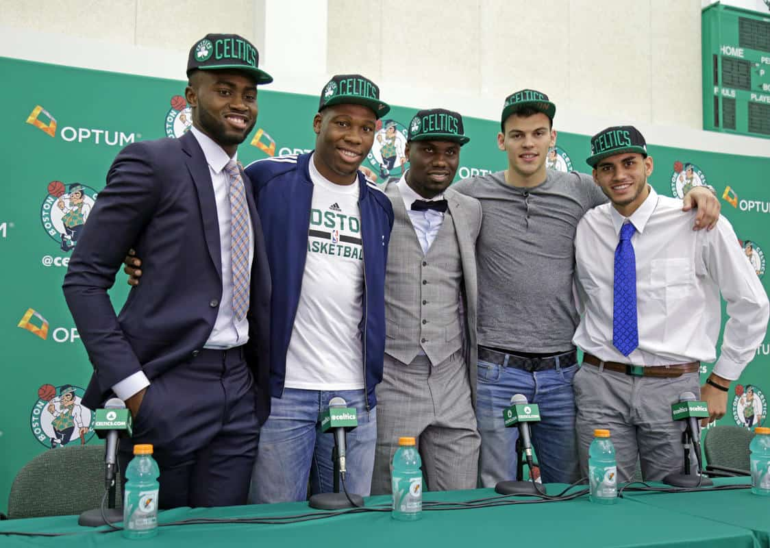 Celtics 2016 Draft Picks