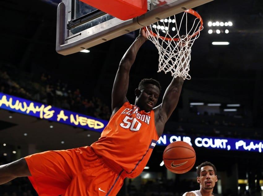 Ncaa Basketball - Sidy Djitte (Clemson)