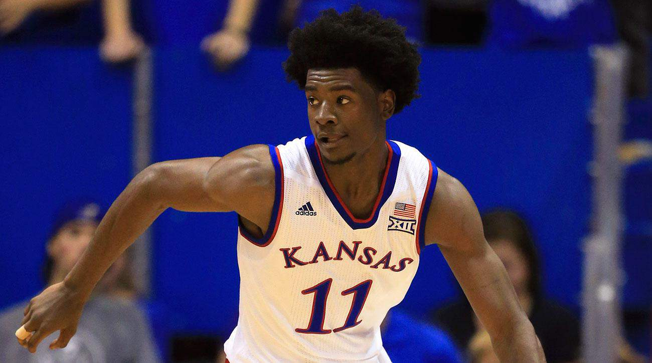 Ncaa basketball - Josh Jackson - Kansas