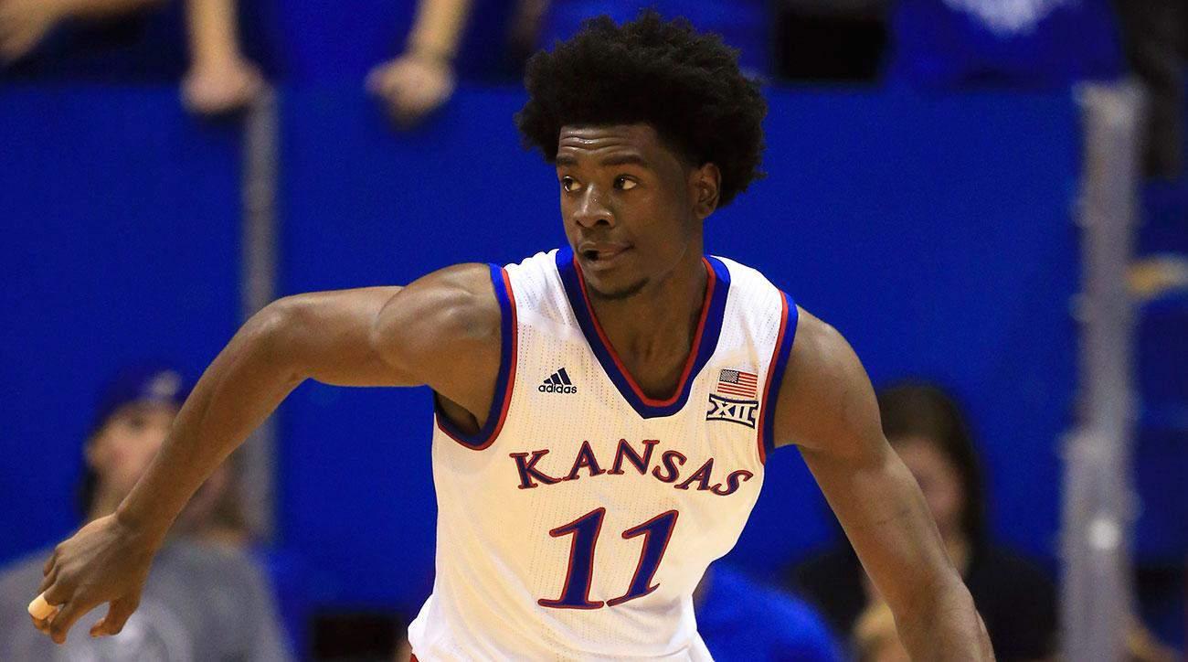 Ncaa basketball - Josh Jackson - Kansas