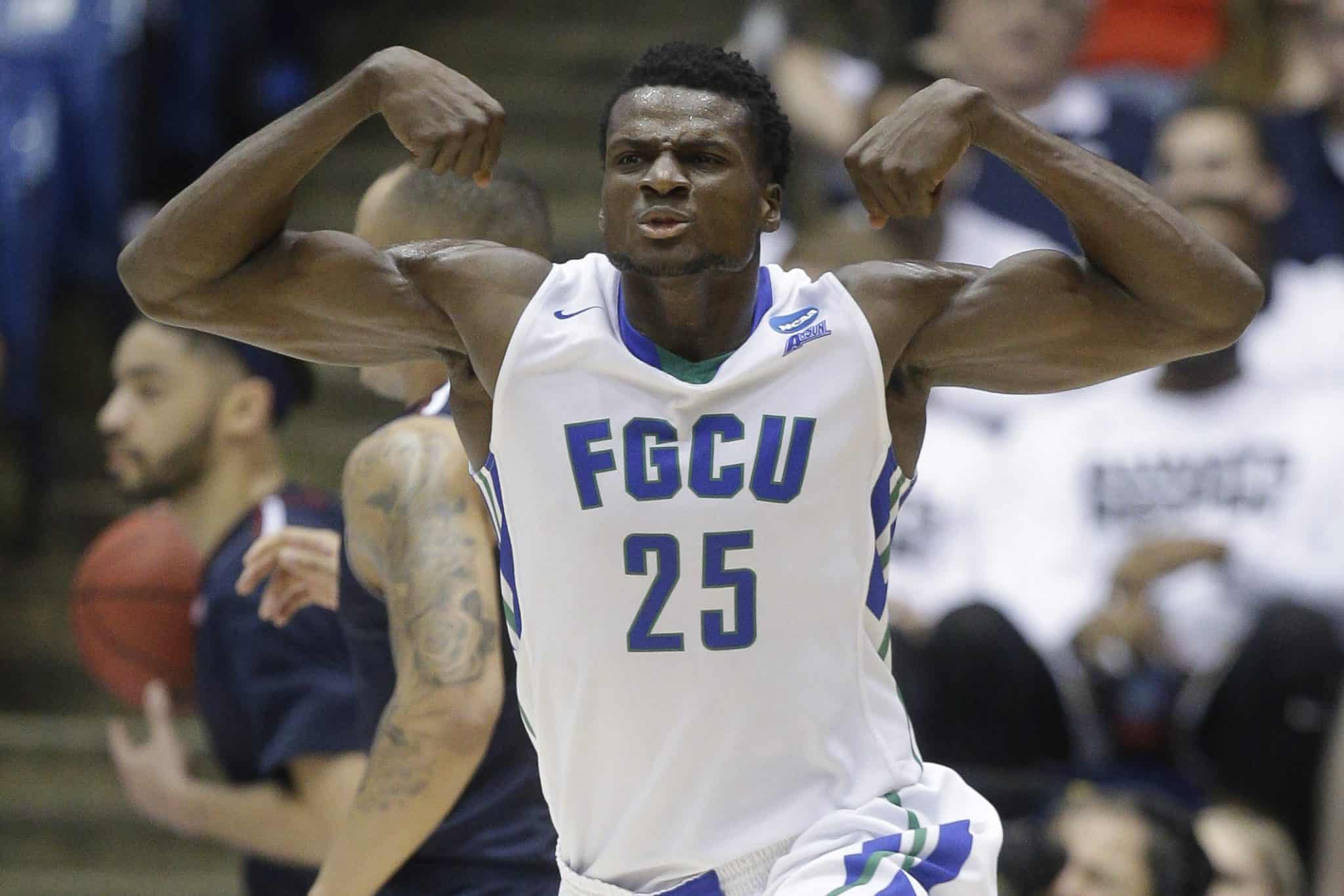 Ncaa basketball - Marc-Eddy Norelia - Florida Gulf Coast