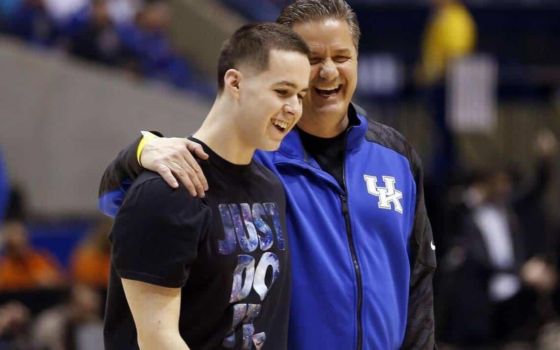 Ncaa basketball - John Calipari col figlio Brad - Kentucky