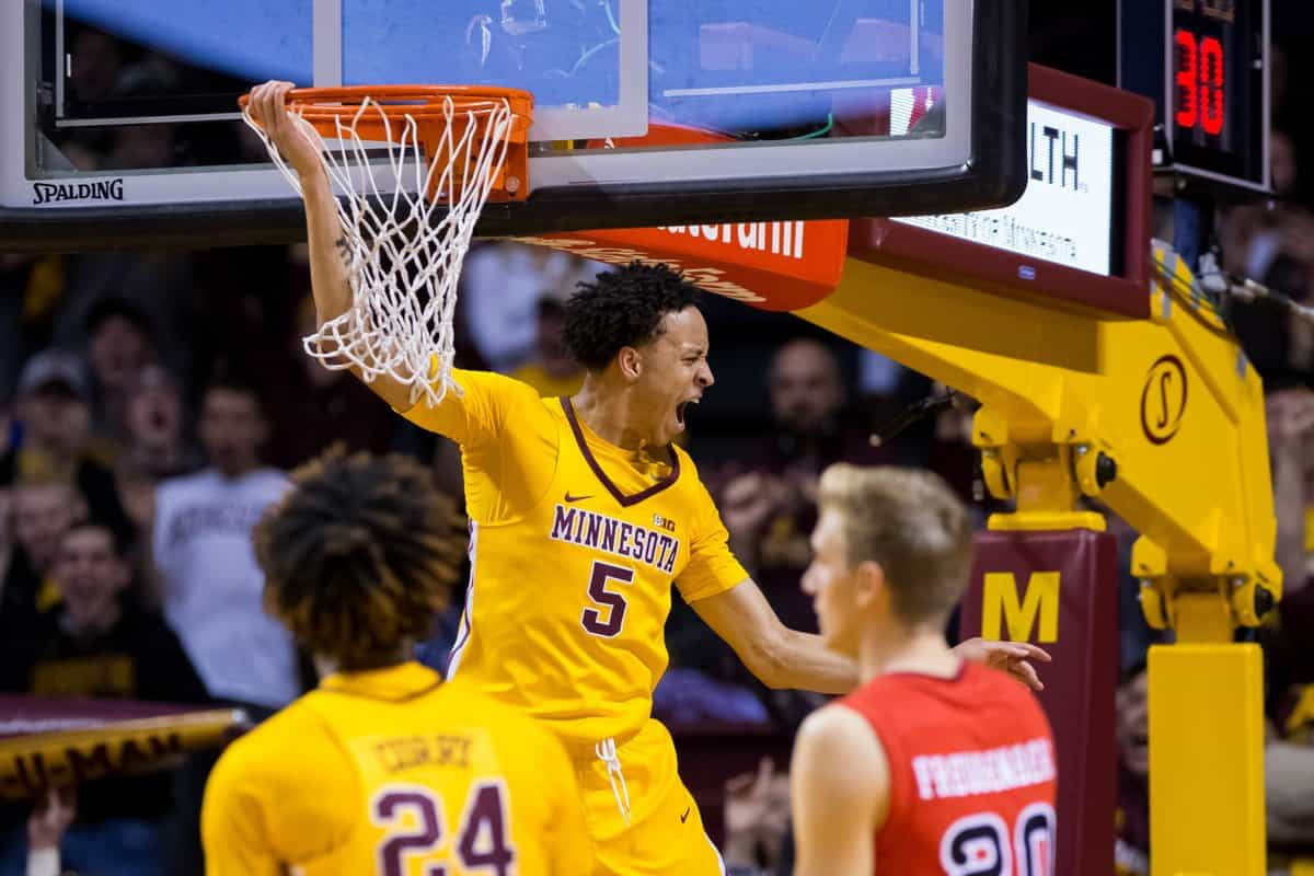 Ncaa basketball - Minnesota Golden Gophers