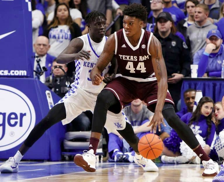 Ncaa basketball - Robert Williams - Texas A&M
