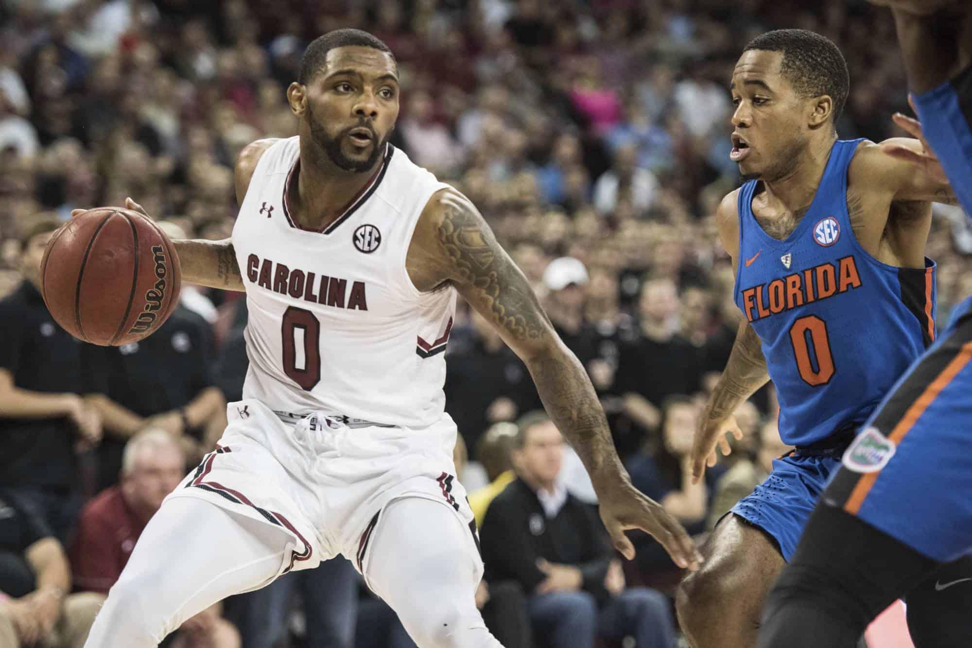 Ncaa basketball - Sindarius Thornwell - South Carolina