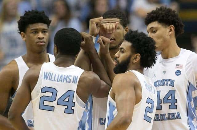 BasketballNcaa - North Carolina Tar Heels