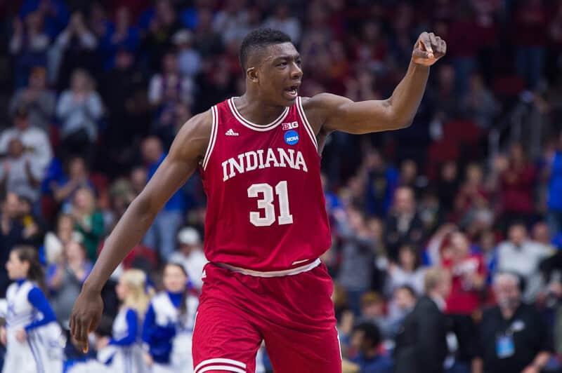 Ncaa basketball - Thomas Bryant - Indiana Hoosiers