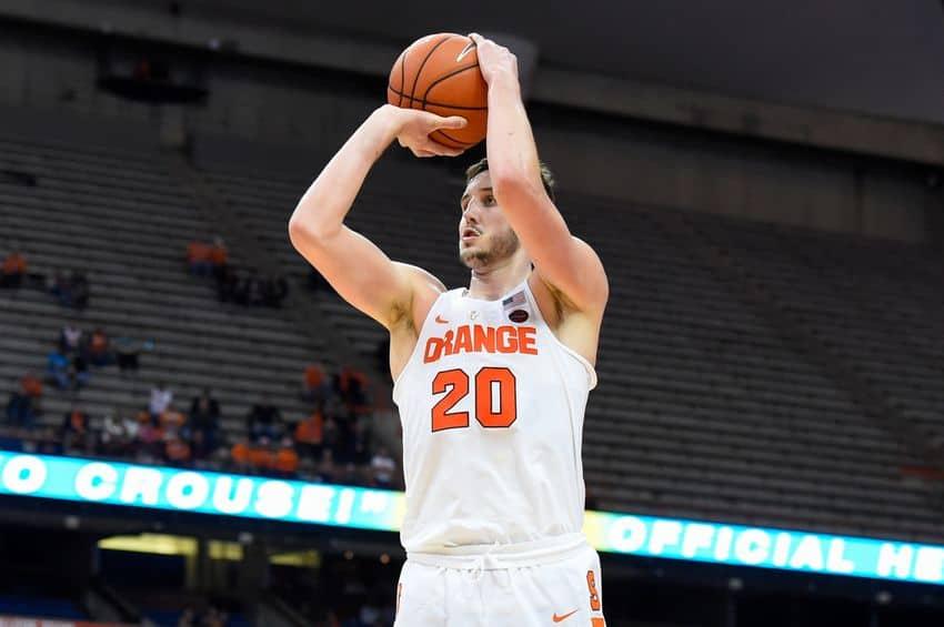 Ncaa basketball - Tyler Lydon - Syracuse Orange