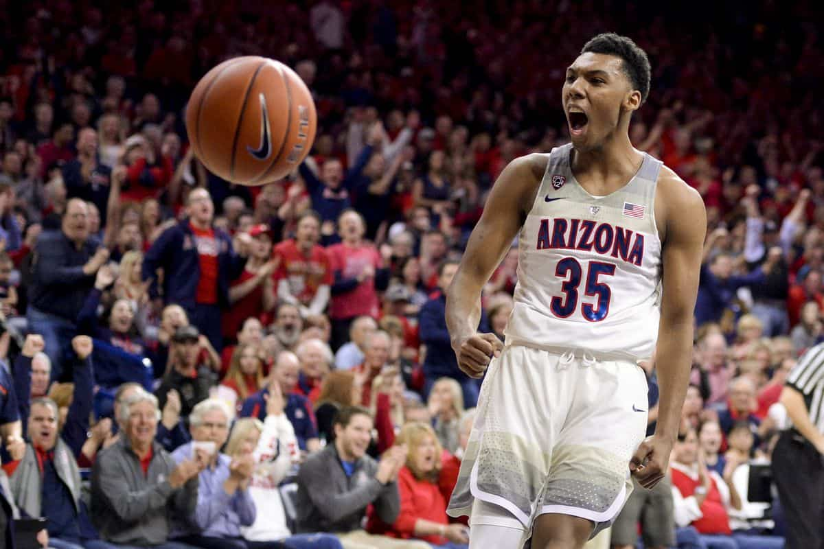 BasketballNcaa - Allonzo Trier - Arizona Wildcats