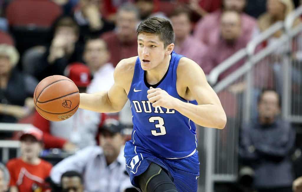 BasketballNcaa - Grayson Allen