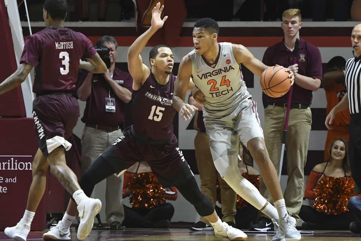 BasketballNcaa - Virginia Tech - Kerry Blackshear