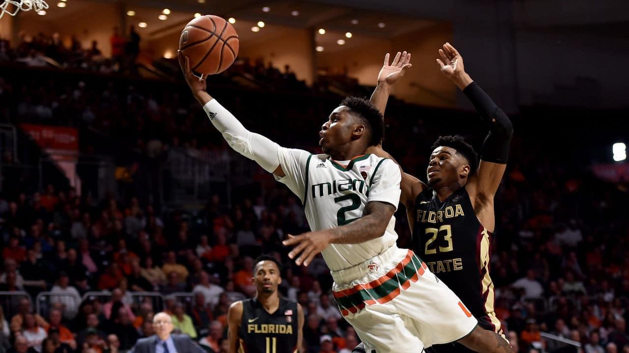 BasketballNcaa - Miami Hurricanes - Chris Lykes