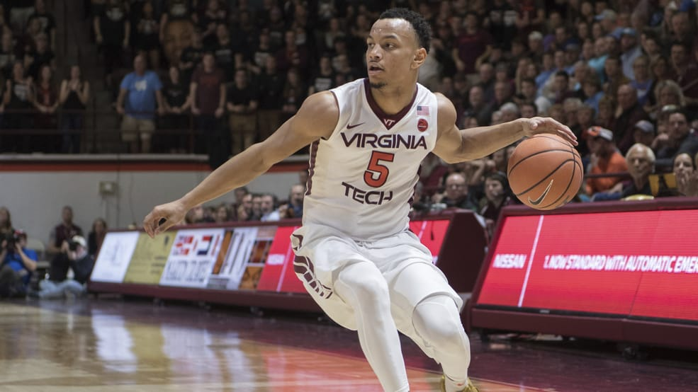BasketballNcaa - Virginia Tech - Justin Robinson