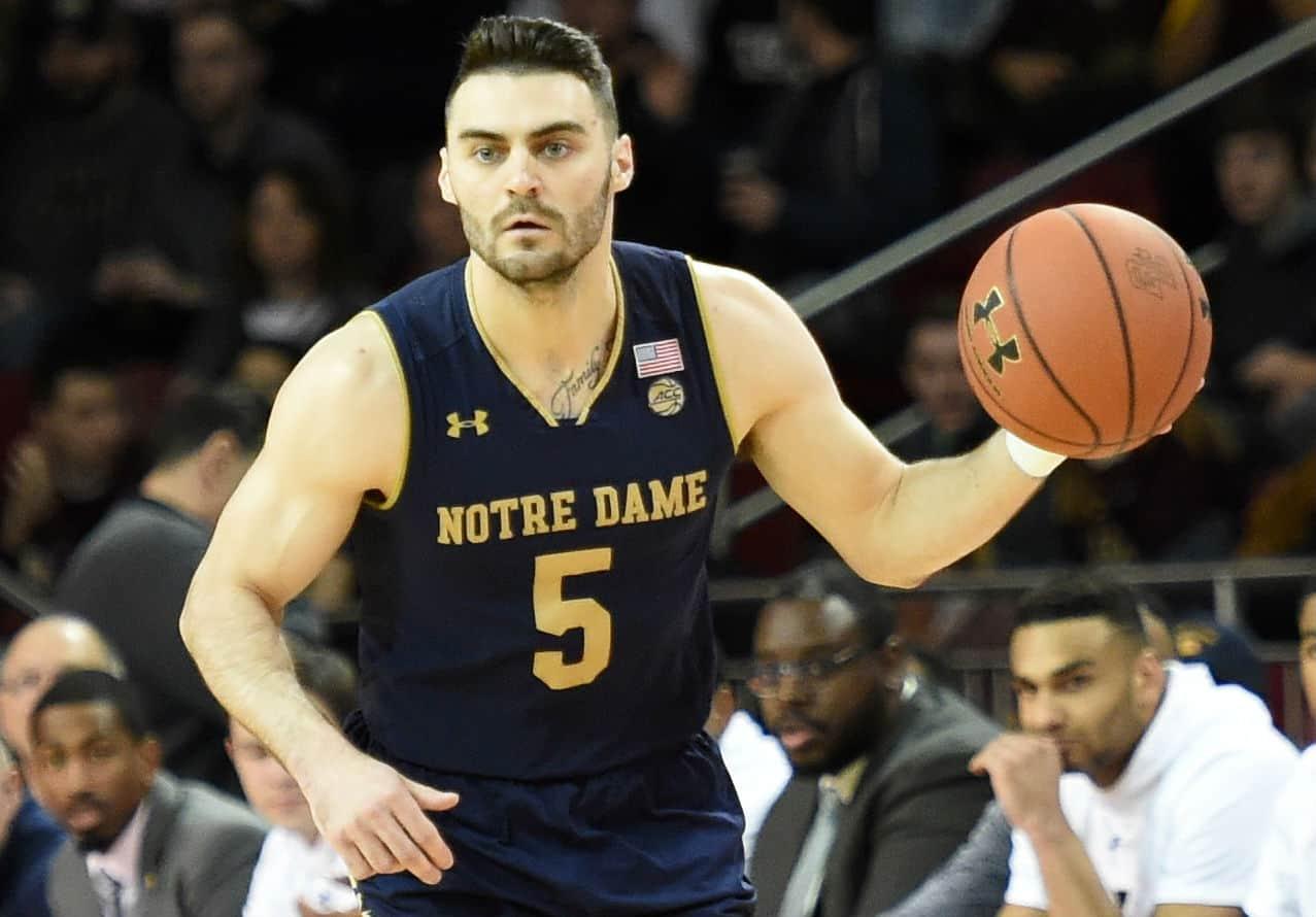 Matt Farrell - Notre Dame Irish - BasketballNcaa
