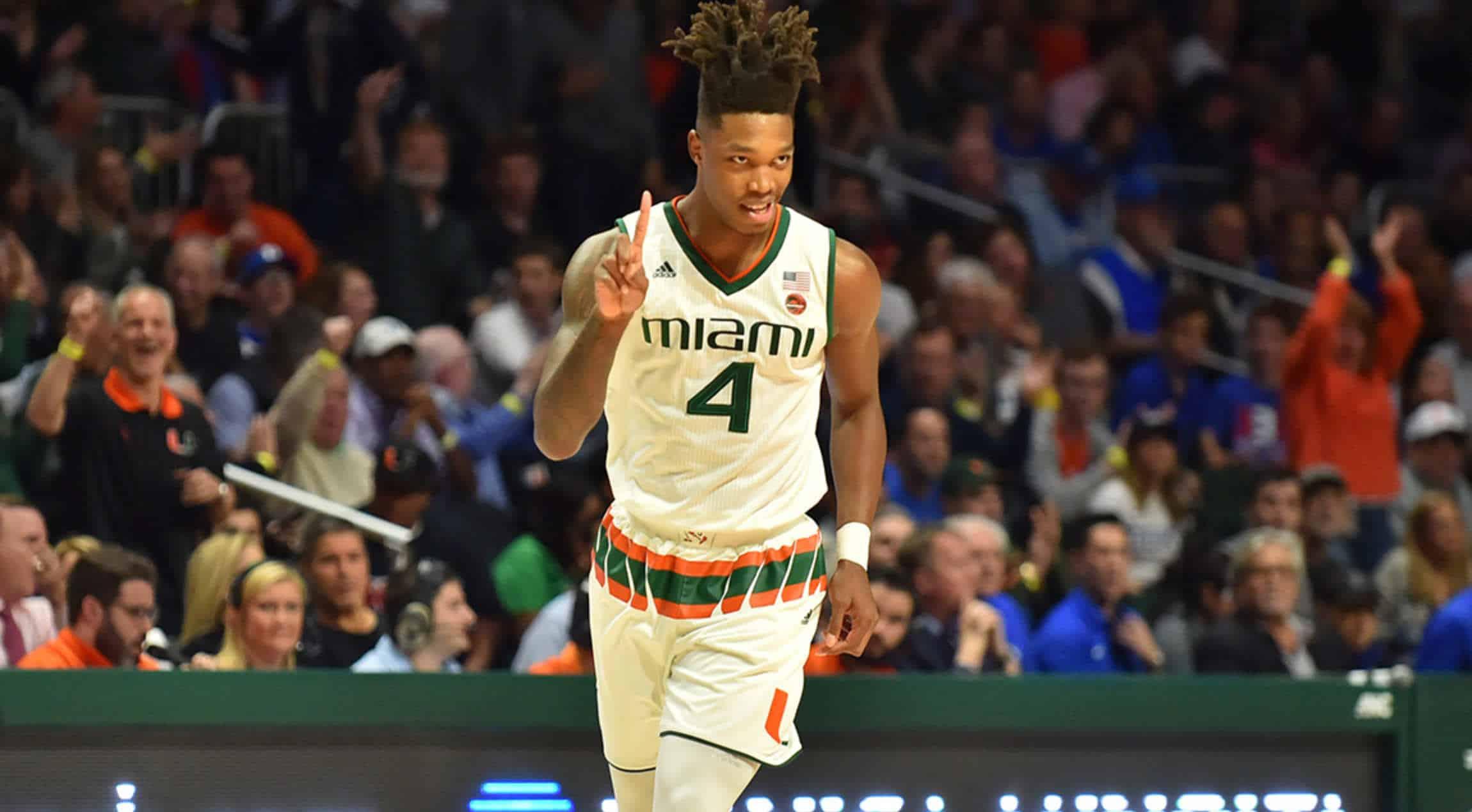 BasketballNcaa - Miami - Lonnie Walker
