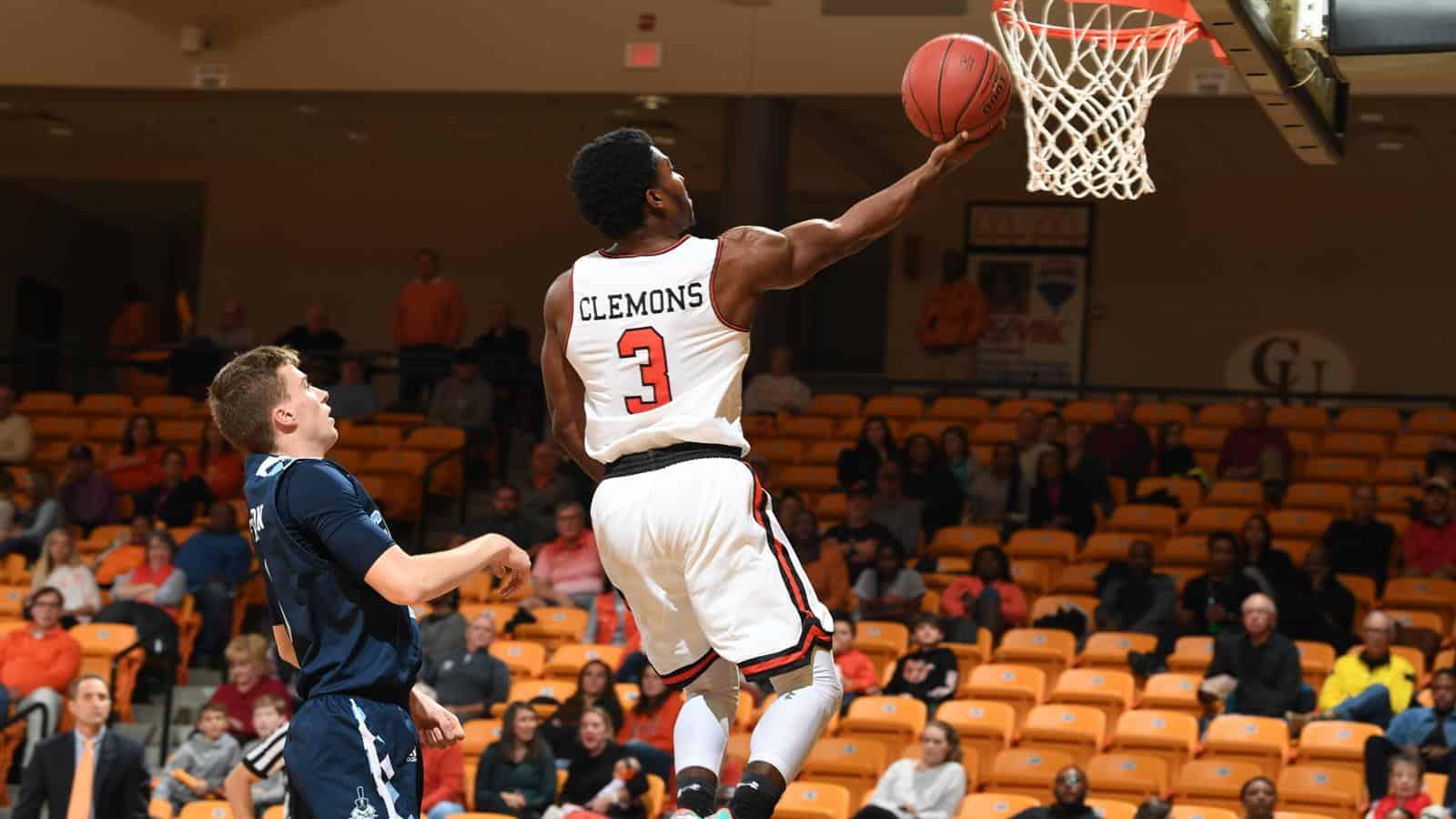 BasketballNcaa - Campbell - Chris Clemons