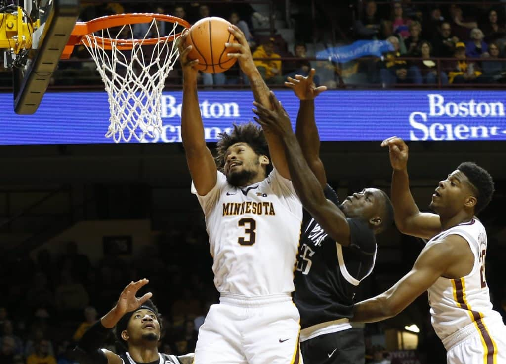 BasketballNcaa - Minnesota - Jordan Murphy