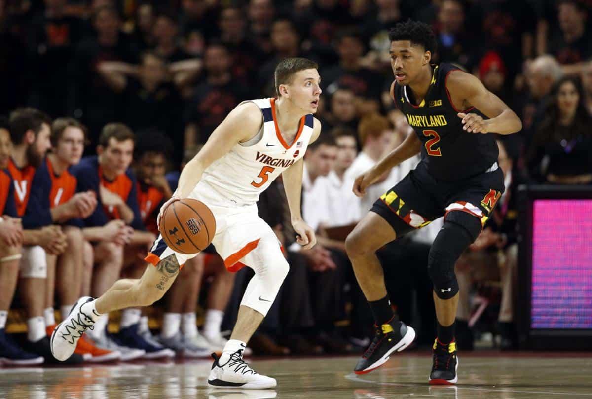 BasketballNcaa - Virginia - Kyle Guy