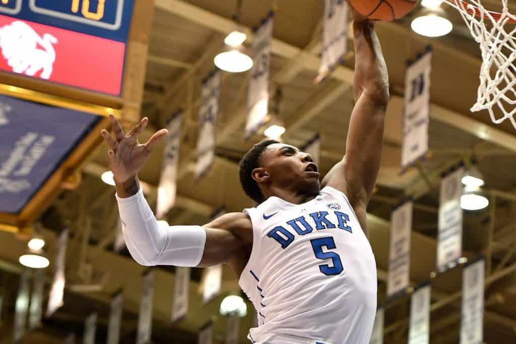 Duke - BasketballNcaa - RJ Barrett