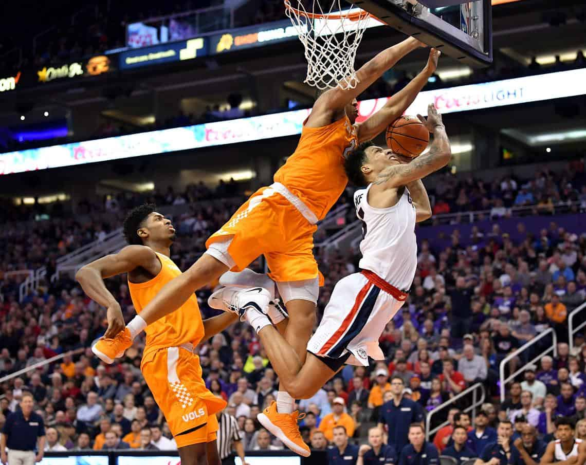 Tennessee ferma la corsa di Gonzaga