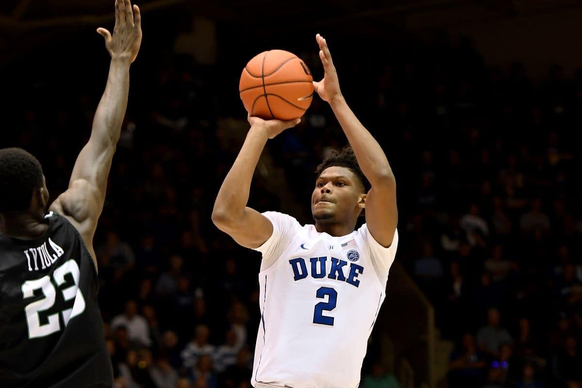 BasketballNcaa - Duke - Cam Reddish