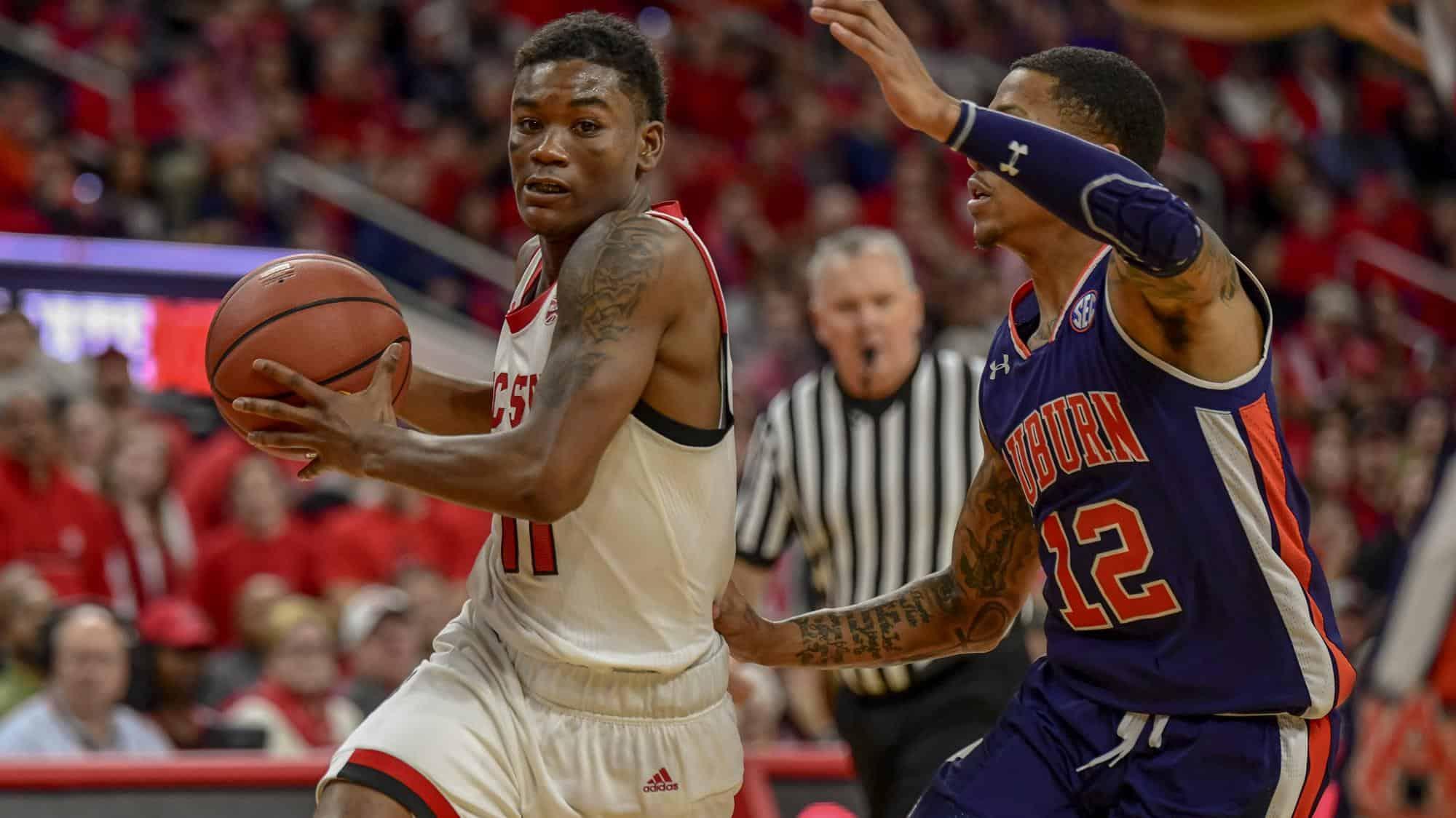 BasketballNcaa - NC State - Markell Johnson