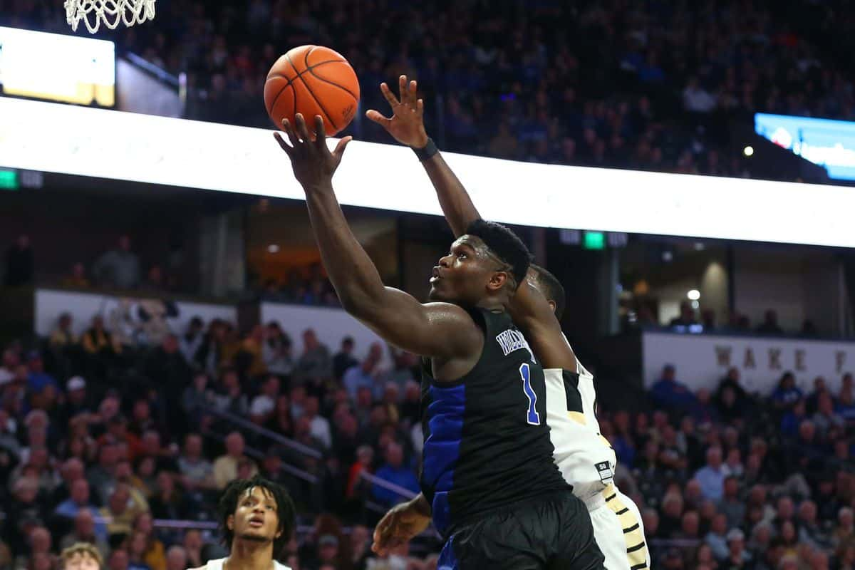 BasketballNcaa - Duke - Zion Williamson