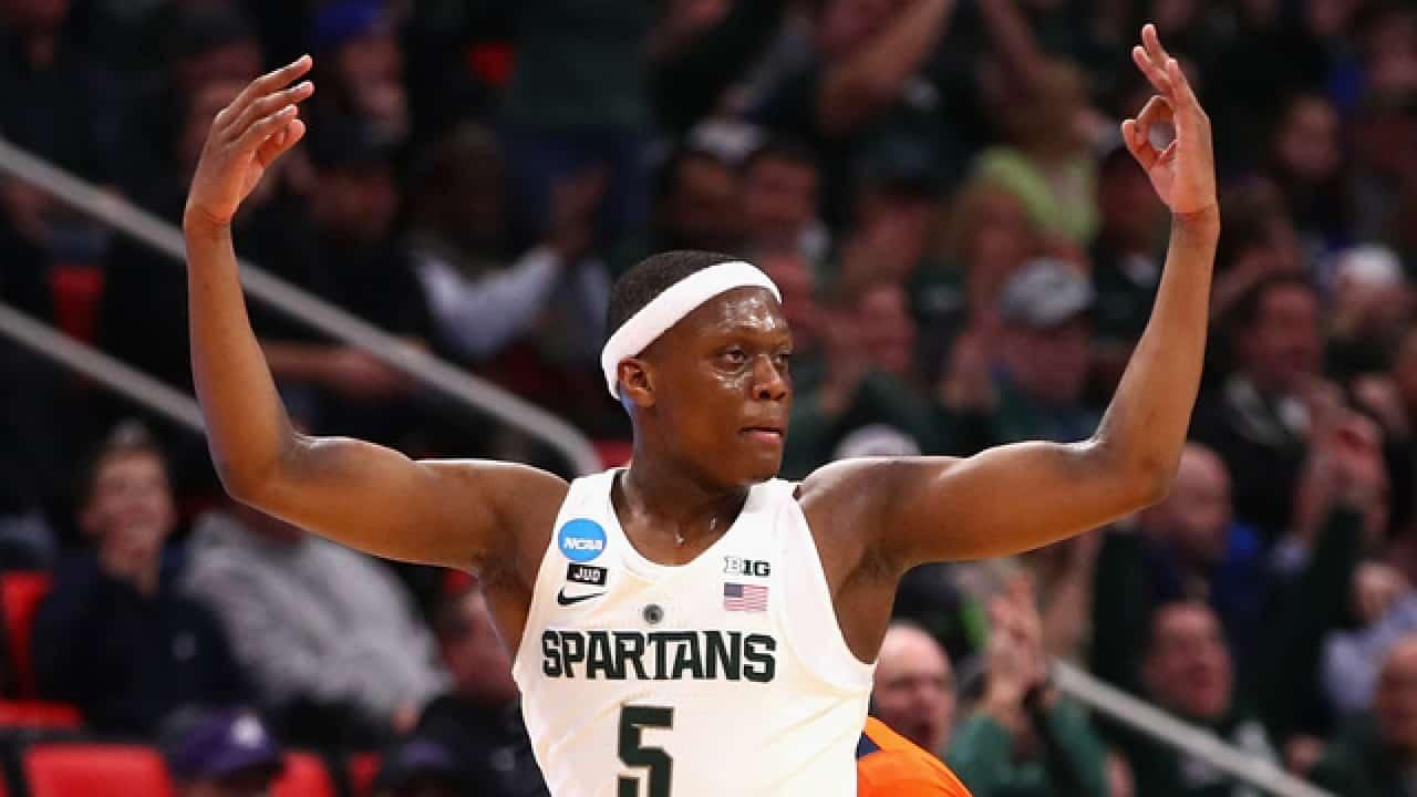 Cassius Winston trascina Michigan State