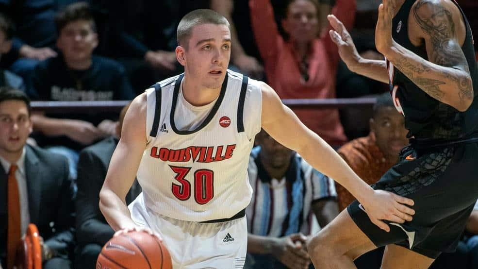 BasketballNcaa - Louisville - Ryan McMahon