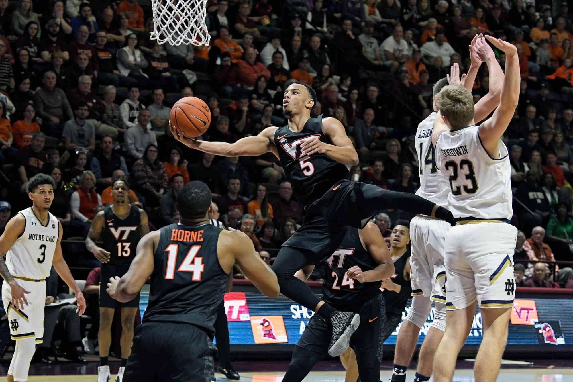 BasketballNcaa - VT - Justin Robinson
