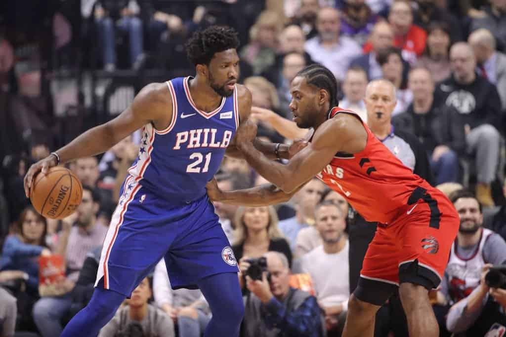 Toronto vs Philadelphia, lo spettacolo sta per cominciare