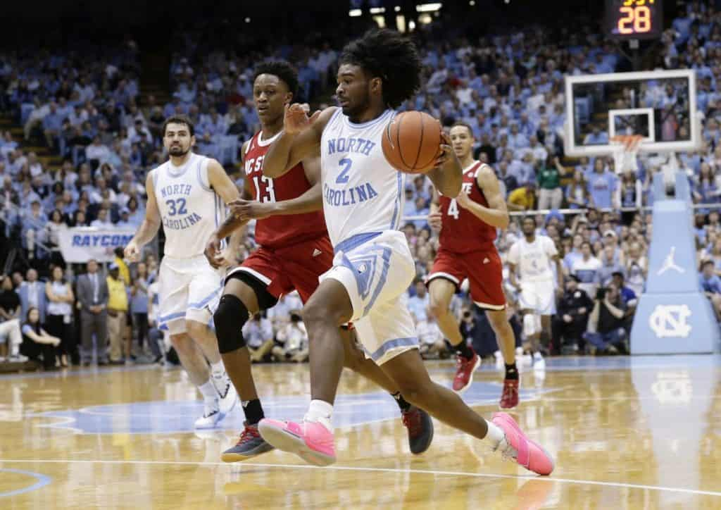 UNC - Coby White - BasketballNcaa