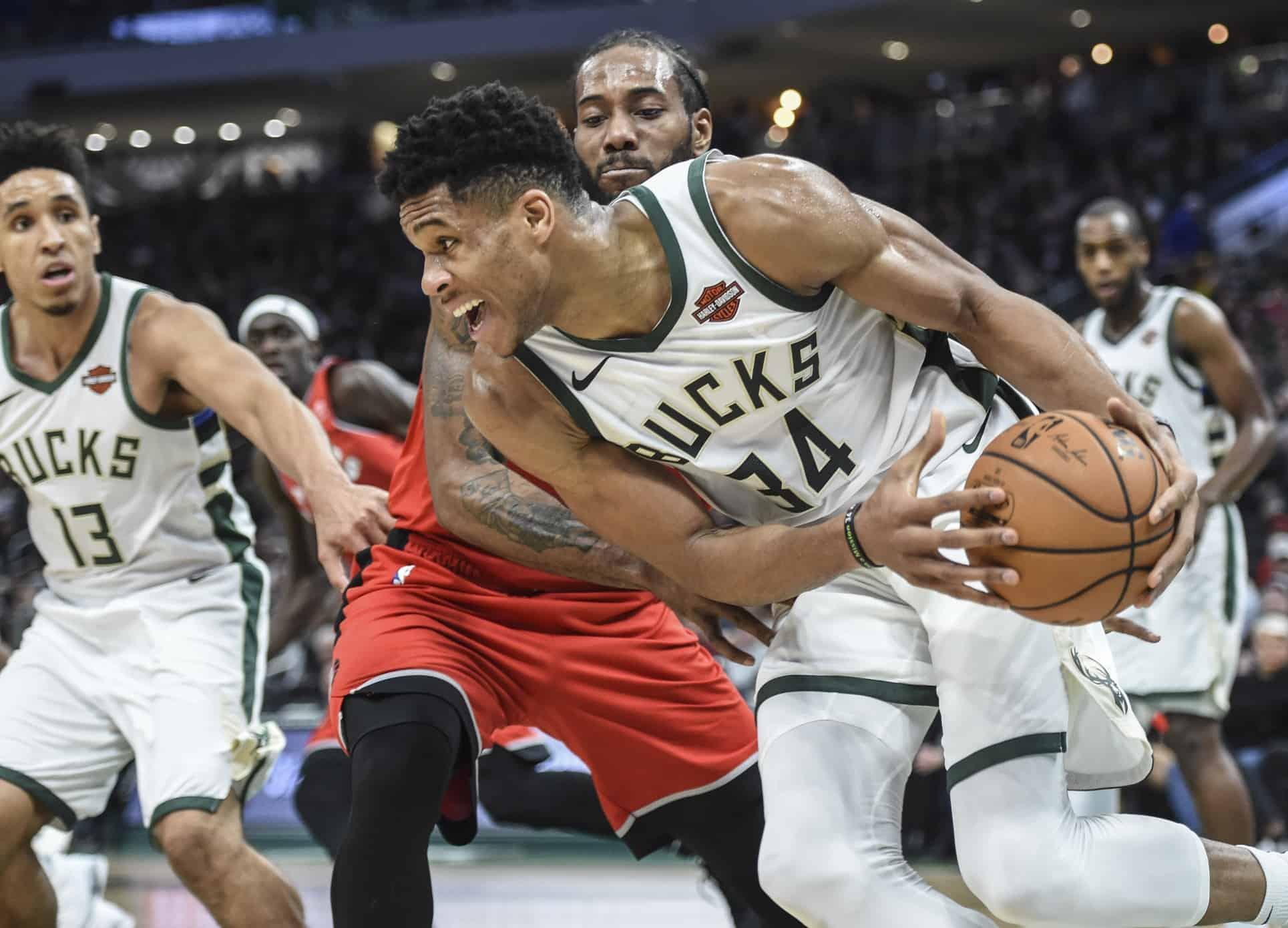 Bucks e Raptors si contendono il trono di LeBron