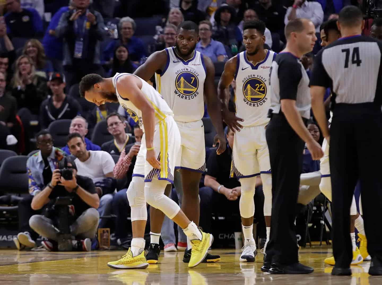 Mano rotta per Curry. Continua la sfortuna di Golden State