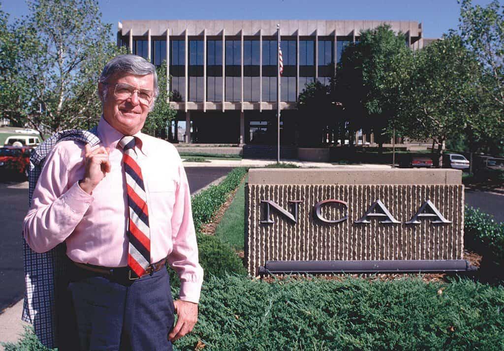 Walter Byers, primo presidente dell'Ncaa