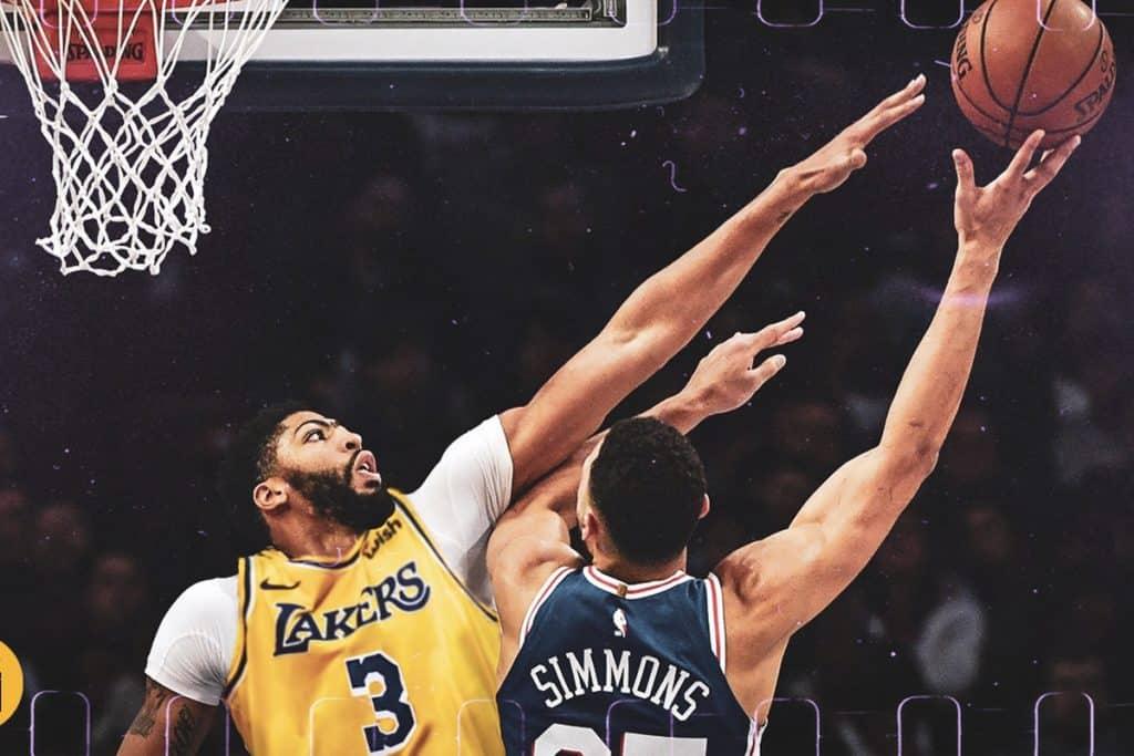 Anthony Davis - Los Angeles Lakers, LeBron James