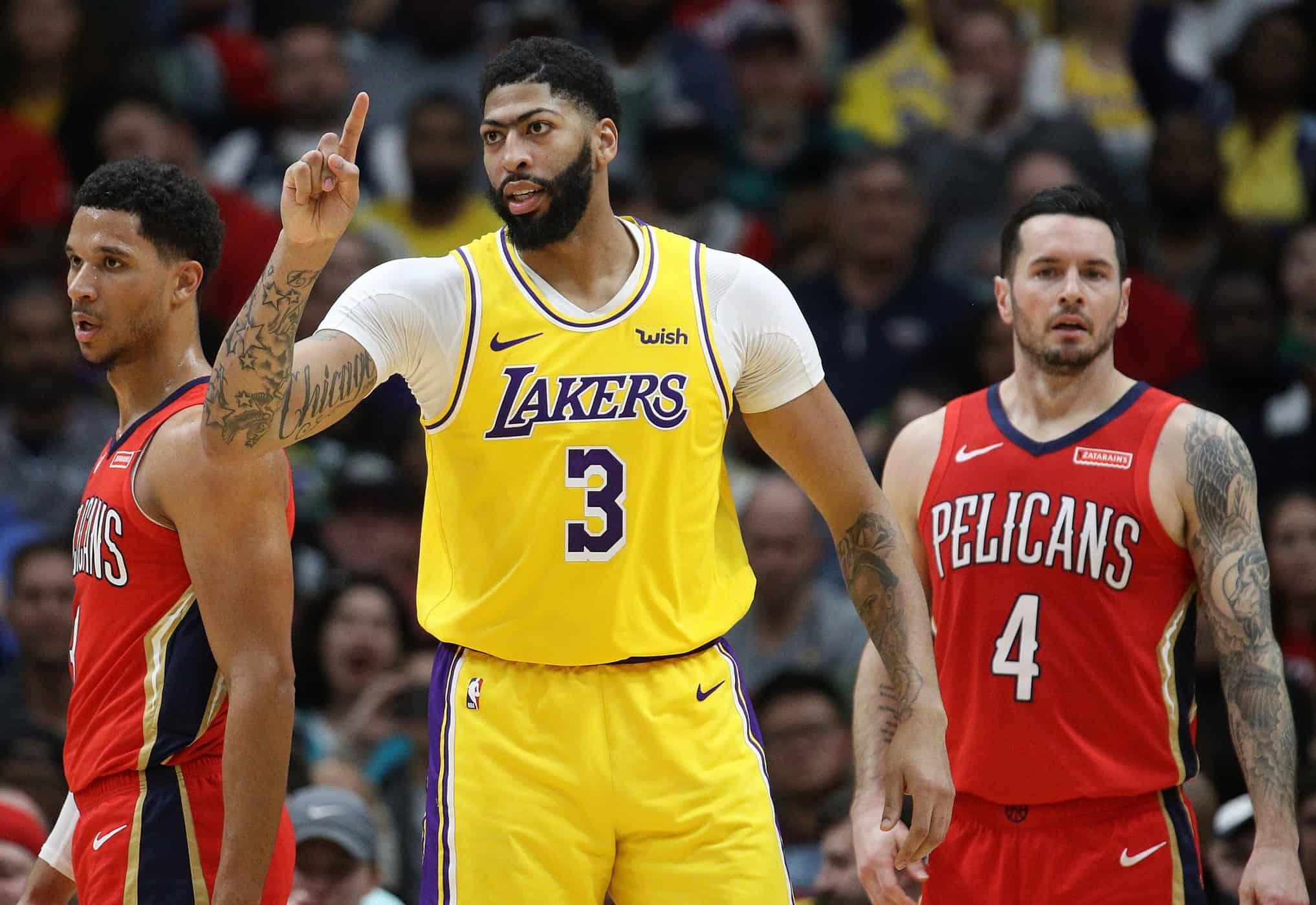 Anthony Davis riporta i Lakers in carreggiata