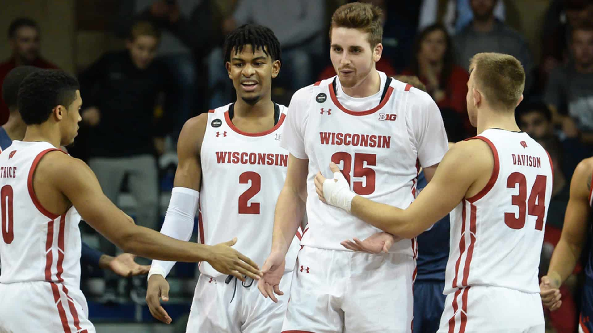 Nate Reuvers - Wisconsin - March Madness