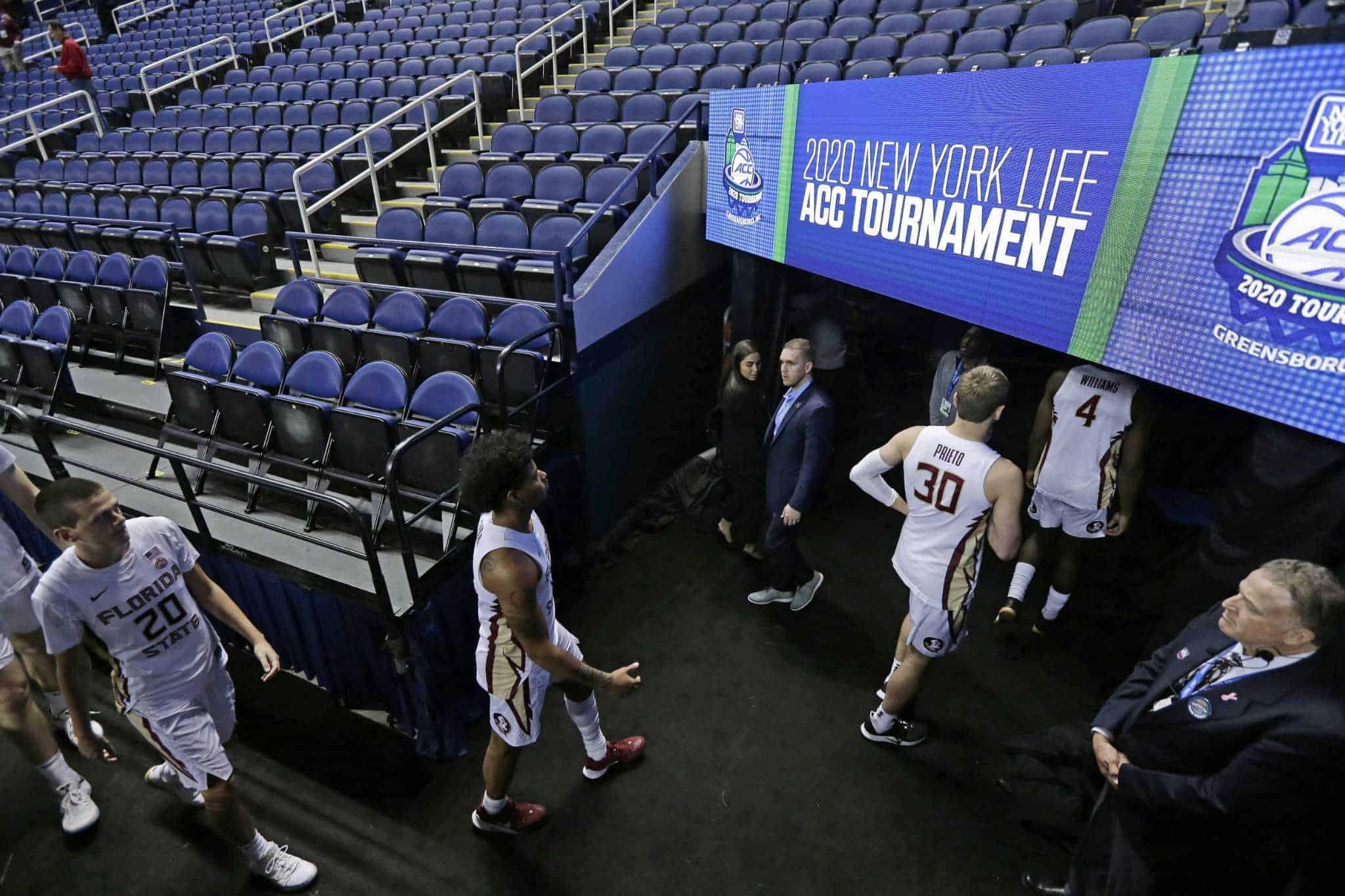 Florida State ACC NCAA canceled coronavirus
