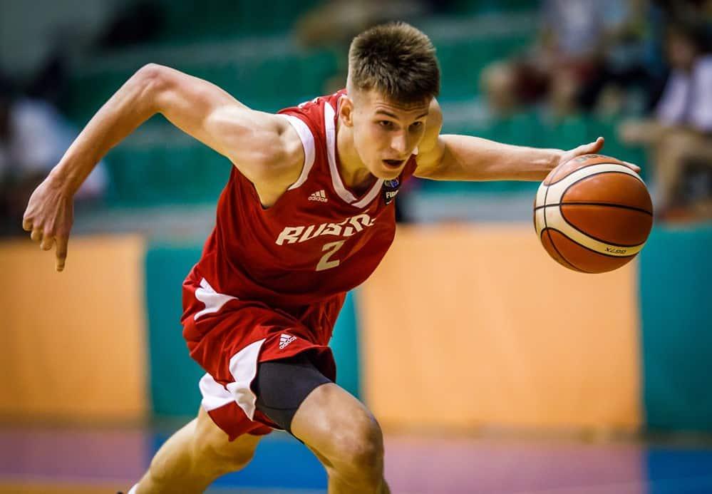Samson Ruzhentsev Europei FIBA U18 2019