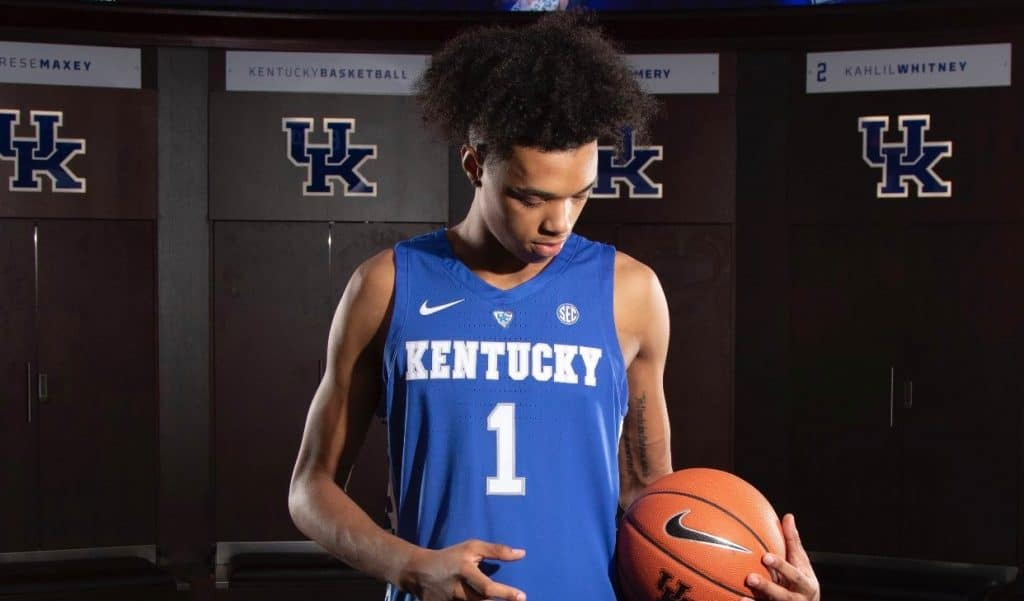 BJ Boston Kentucky | BasketballNCAA