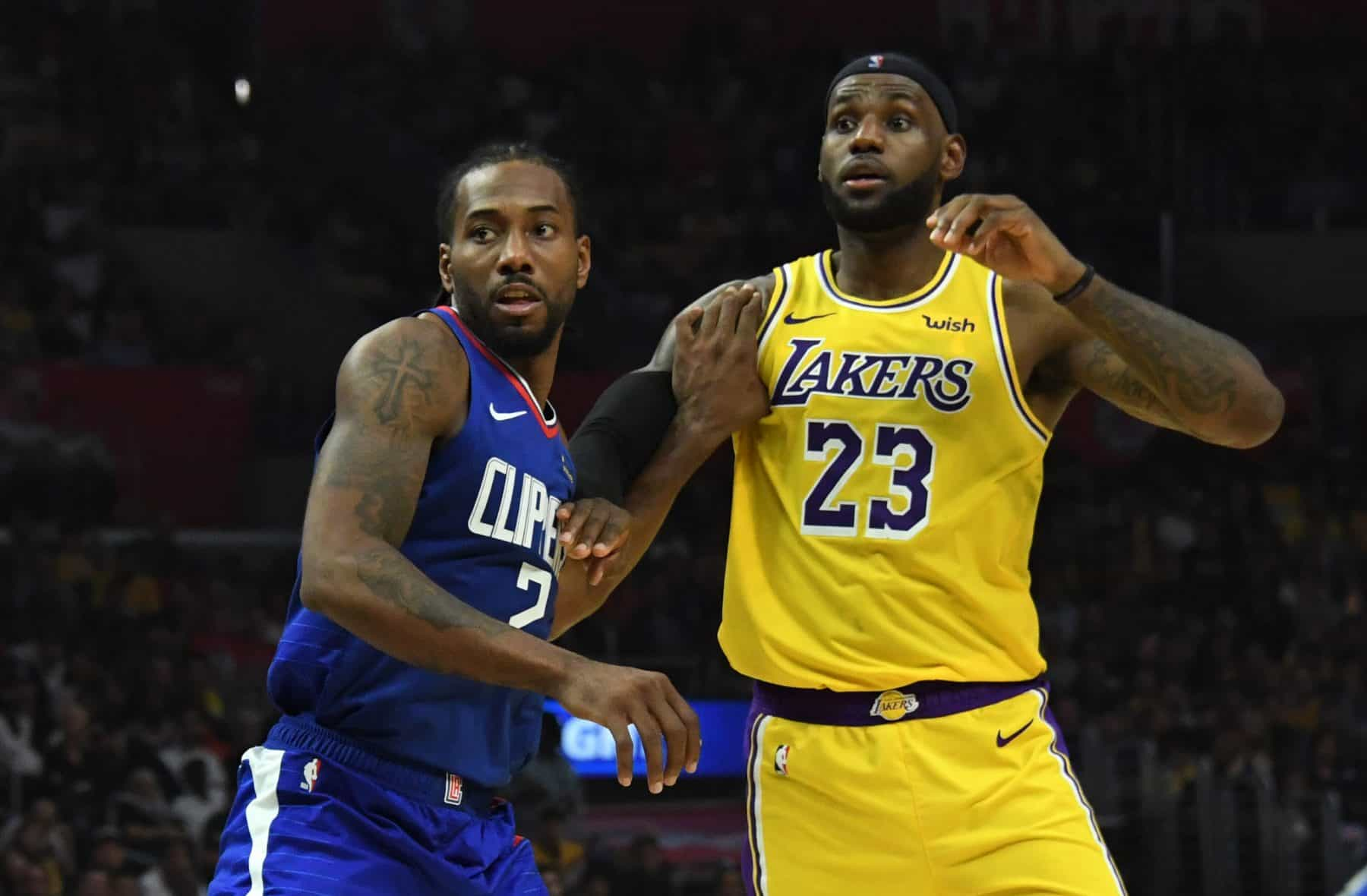 Clippers contro Lakers
