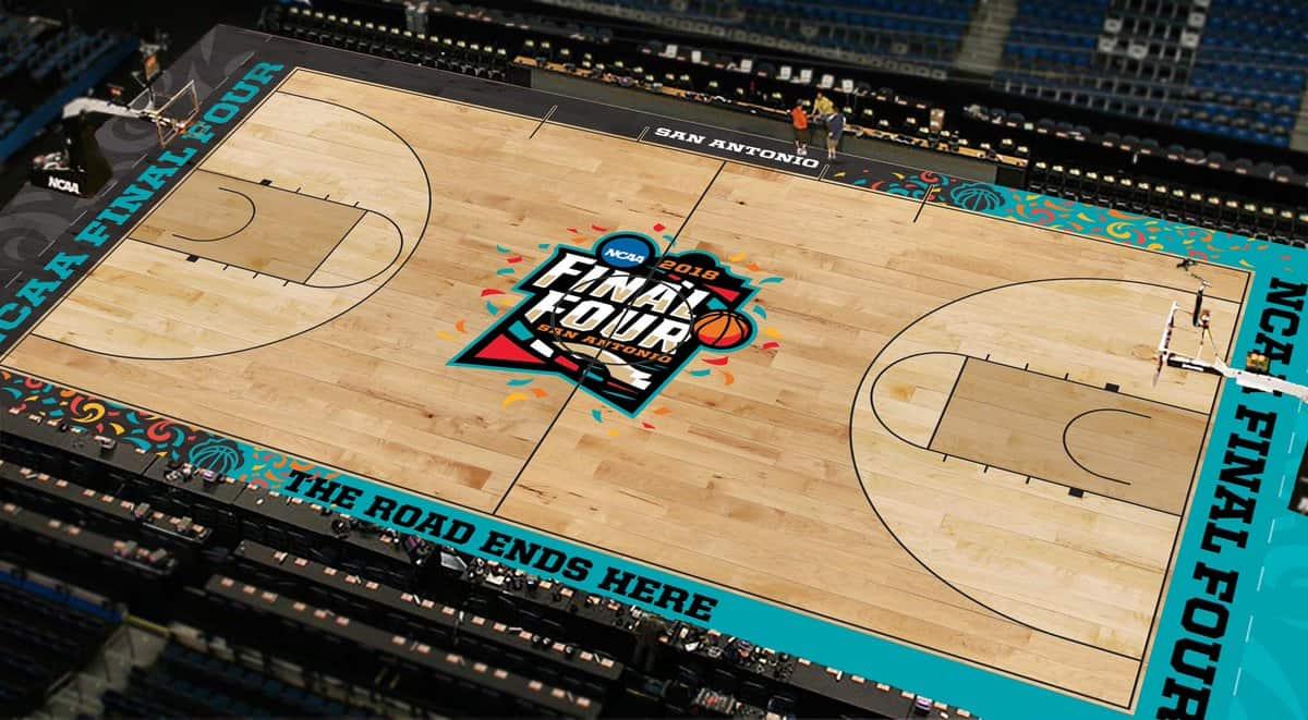 NCAA court final four 2019 college basketball