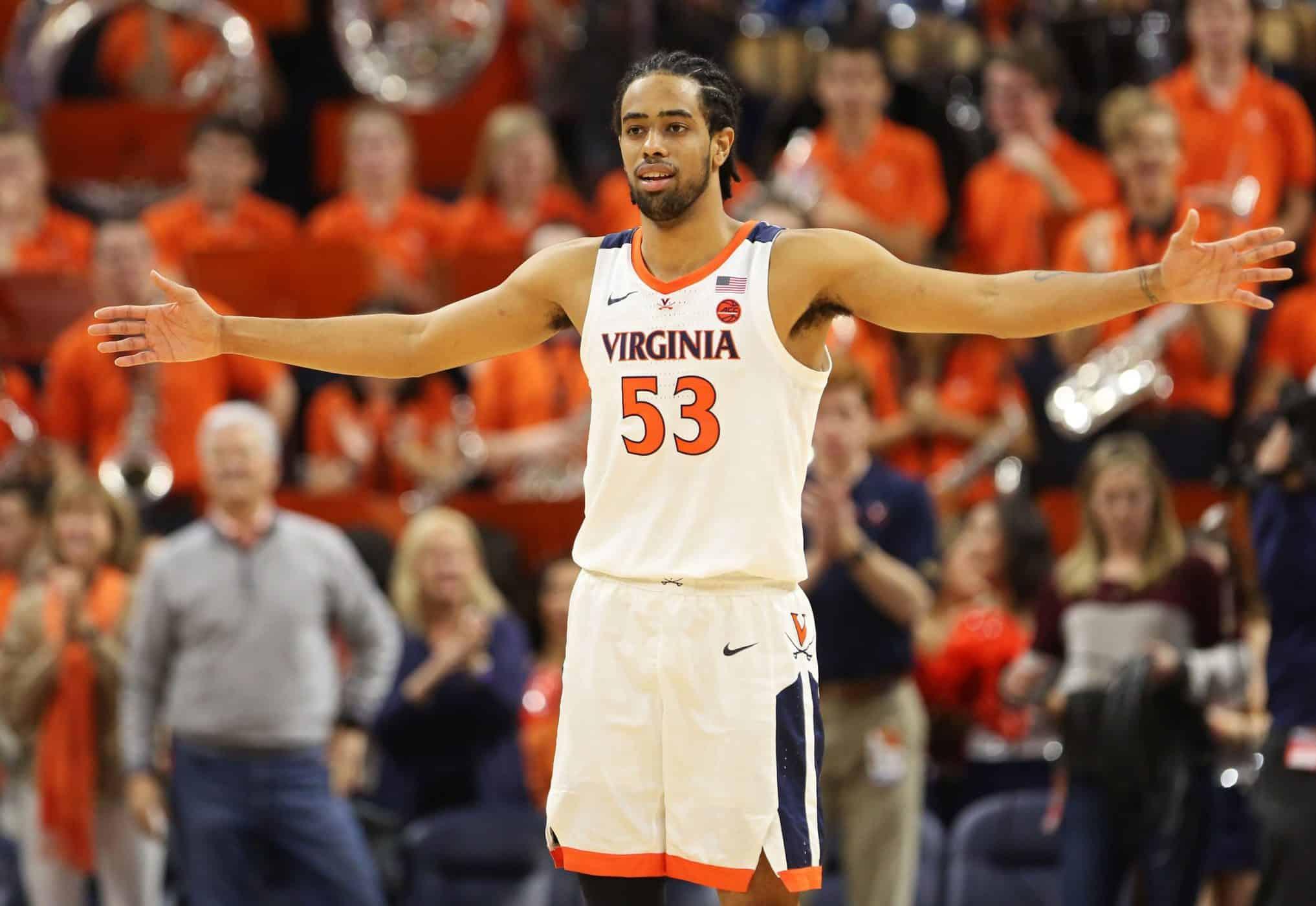 Tomas Woldetensae Virginia italiani college basketball