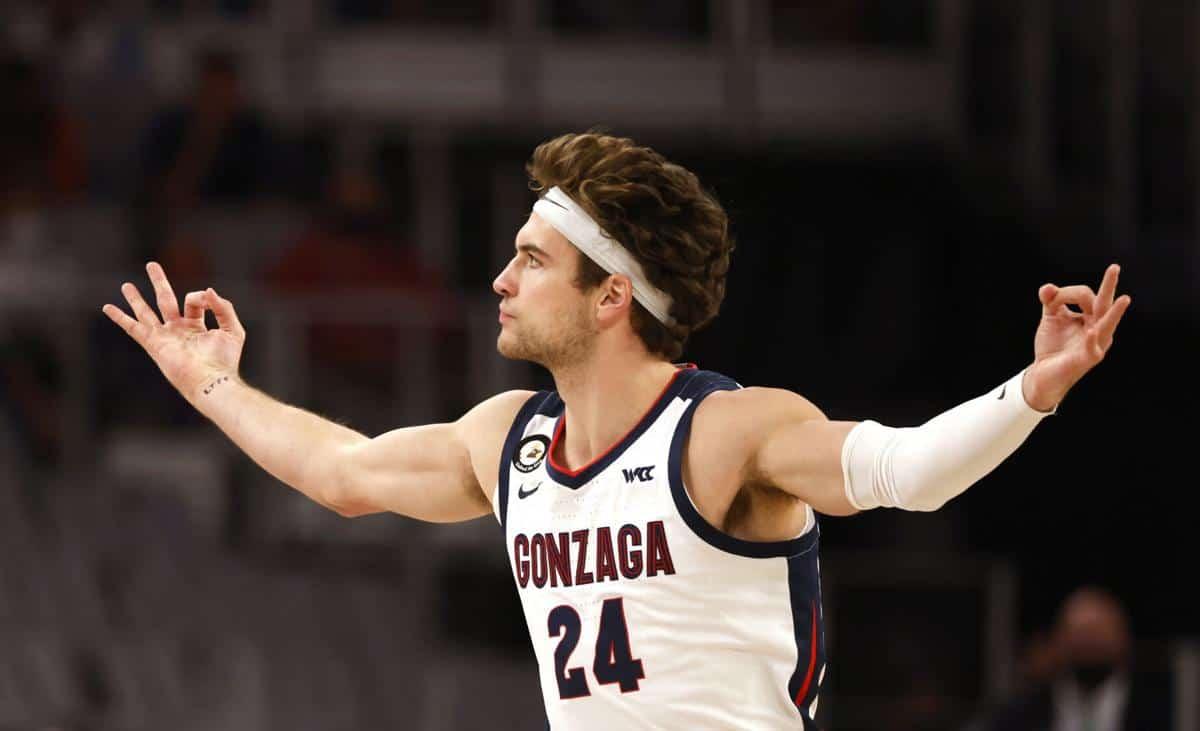Corey Kispert NCAA