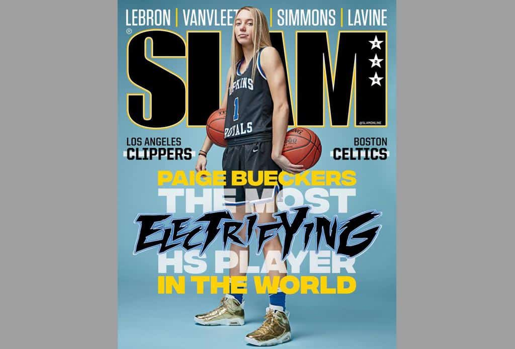 Paige Bueckers Slam Cover